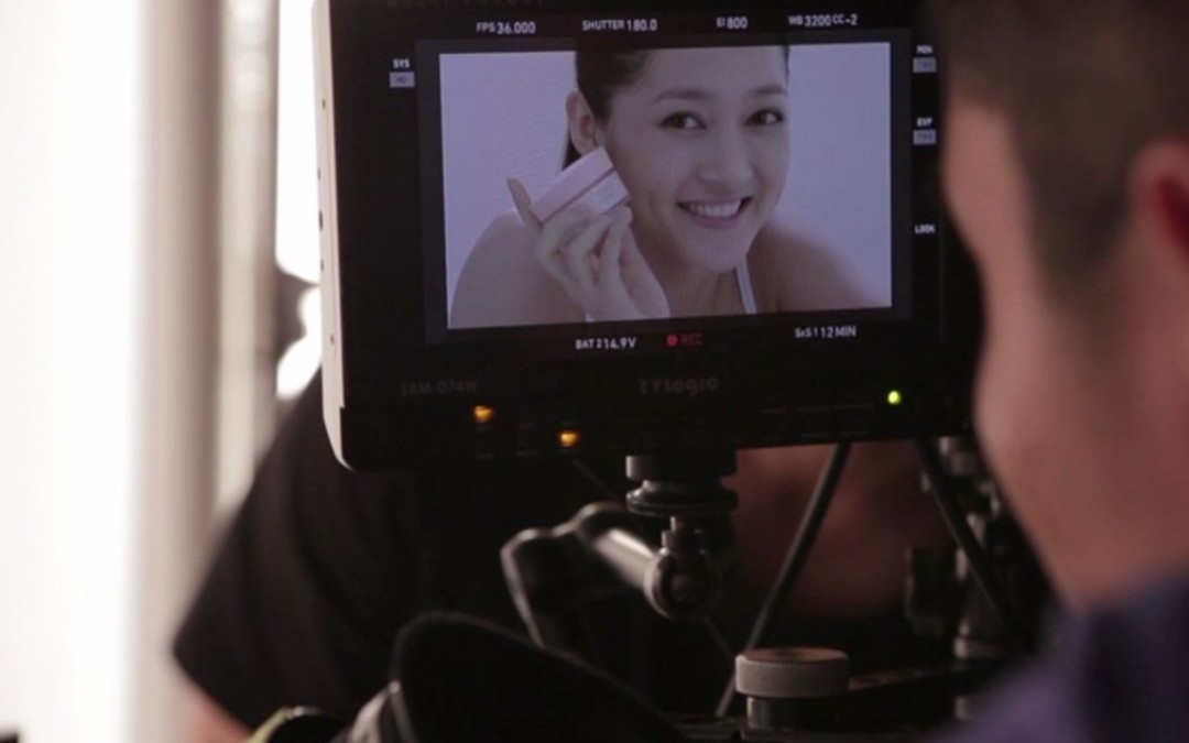 Pond's New White Beauty Cream (Behind the Scenes)